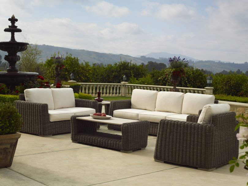 Sheryl Hebert Wins The Luxurious 5 Piece Brown Jordan Furniture Set!
