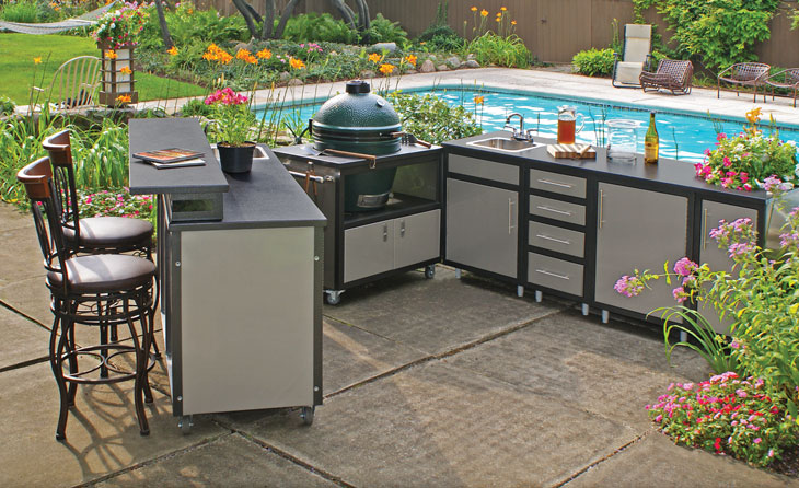 Challenger Outdoor Kitchen