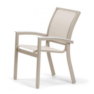 Aluminum sling armless chaise for Chaise restaurant