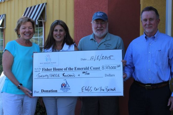 Fisher House Donation