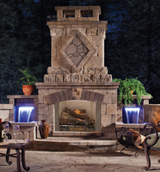 Fireplace trends for outdoor living in 2016 bay breeze patio for Vantage hearth