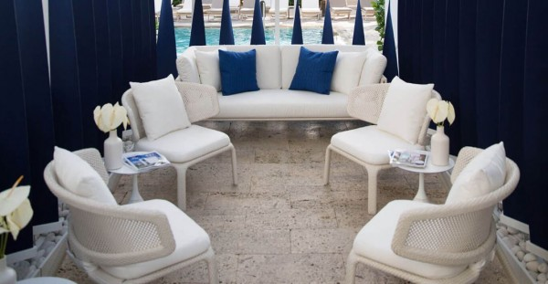 sunbrella seating