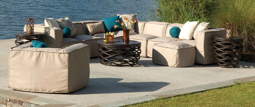 Trend in Upholstered Outdoor Furniture Takes Off - Bay ...