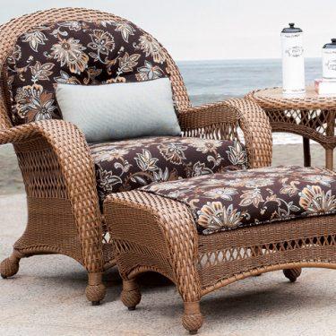 Miramar Chair And Ottoman