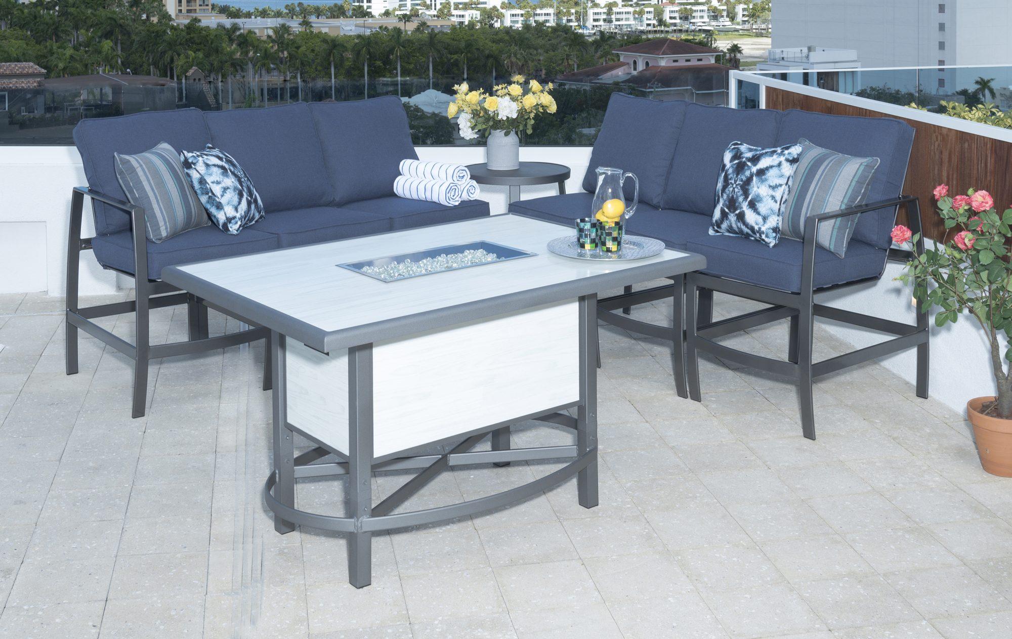 outdoordesign krisp balcony height collection - bay