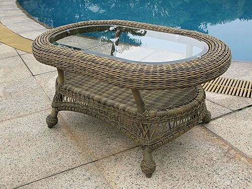 Oval Coffee Table (D)