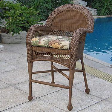 Bar Chair (M) & Wicker In-Stock