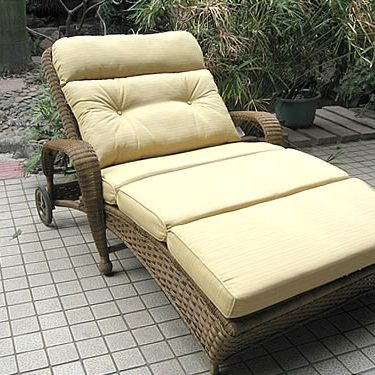Double Adjustable Chaise (BW)