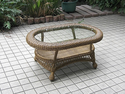 Oval Coffee Table (BW)